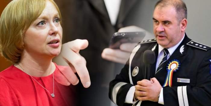 Șefii Academiei de Poliție care au amenințat cu moartea o jurnalistă, salvați de magistrați / Asta înseamnă să fii mafiot!