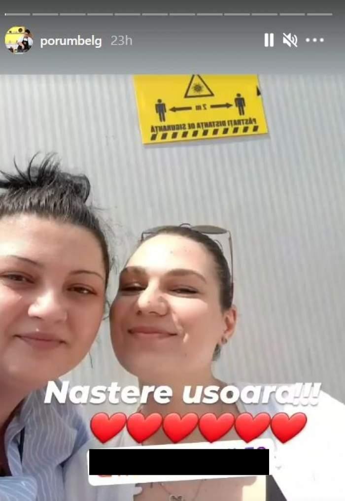 Roxana Vasile și Porumbița de la Chefi la cuțite într-un selfie.