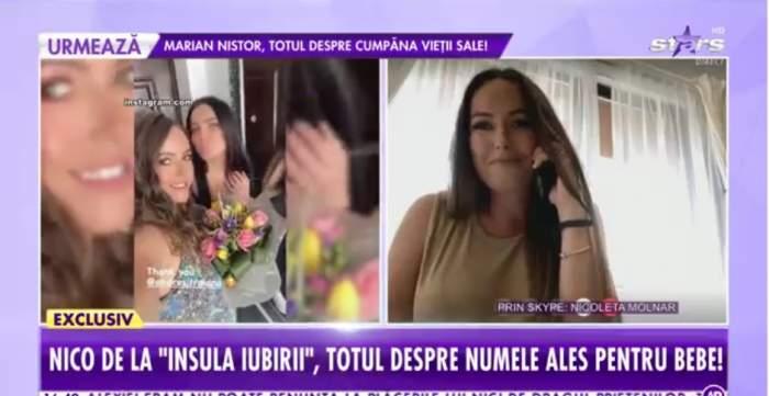 """Nicoleta Molnar, dezvăluiri despre sarcină la Antena Stars. Cum s-a pregătit pentru naștere: """"Cred că o să fiu foarte posesivă"""" / VIDEO"""