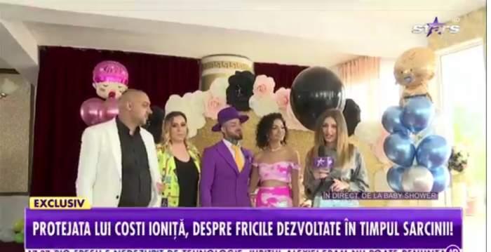 Cântăreața Dodo a aflat sexul bebelușului, în direct, la Antena Stars. Cum a reacționat fosta protejată a lui Costi Ioniță / VIDEO