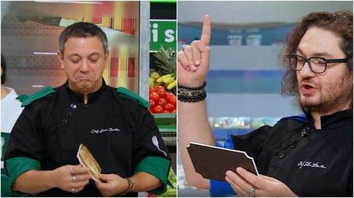 Colaj cu Sorin Bontea și Florin Dumitrescu, la Chefi la cuțite.