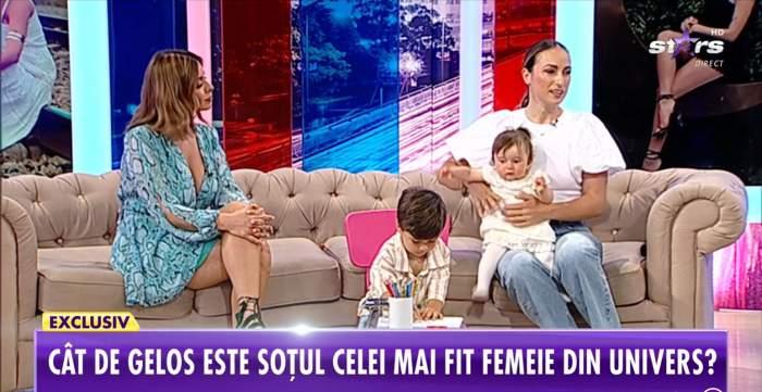 """Anca Bucur, despre viața de când este mamă pentru a doua oară. Fosta Miss Fitness a mărturisit ce regretă: """"Nopți nedormite"""""""