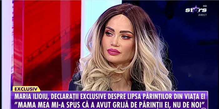 """Maria Iloiu, mărturii emoționante despre părinții săi. Fosta ispită de la Insula iubirii nu are parte de afecțiunea mamei sale: """"Este rece"""""""
