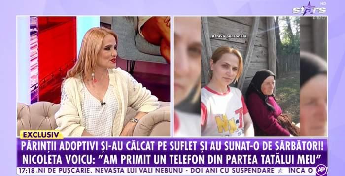 """Nicoleta Voicu, chemată acasă de familie în ziua de Paște. Artista de muzică populară și părinții ei au îngropat orice dușmănie: """"O minune"""" / VIDEO"""