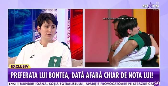 Cristina Mălai, primele declarații după eliminarea emoționantă de la Chefi la Cuțite. De ce a ieșit preferata lui Sorin Bontea din competiție / VIDEO