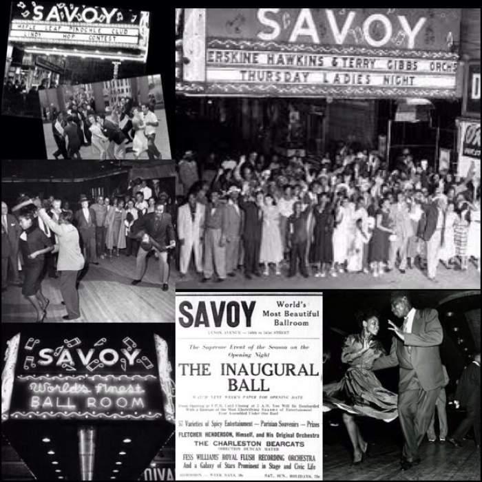 colaj cu Savoy Ballroom