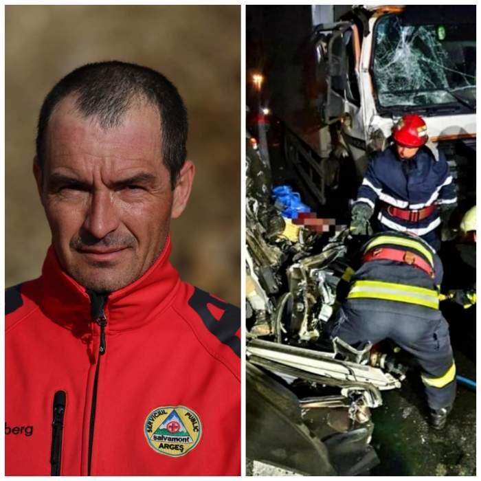 """Salvamontist strivit de camion pe autostradă. Familia lui Mircea este în stare de șoc: """"Mori din neatenția altui om"""""""