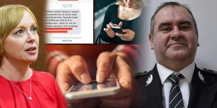 Ce i-a făcut unei colege șeful Academiei de Poliție care a amenințat cu moartea o jurnalistă! / Scandal penal, la vârful MAI
