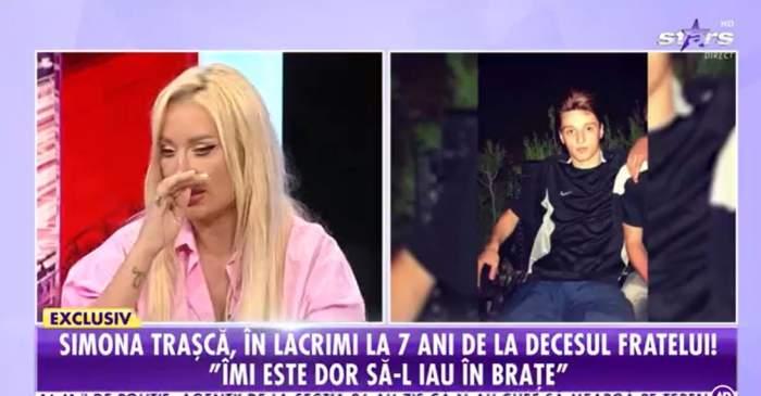 Simona Trasca a plans cand a vorbit despre tatl ei la Antena Stars