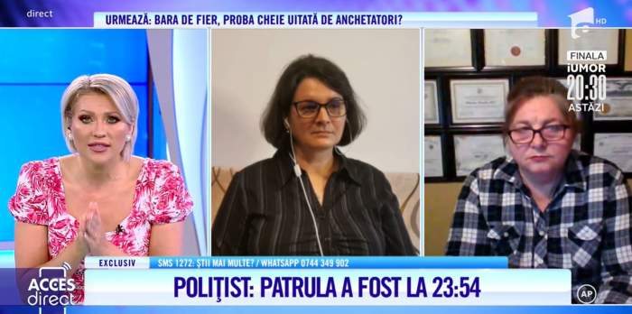 Acces Direct. Poliția știa despre scandalul dintre Maria Macsim Nicoară și soțul său din noaptea accidentului. Un medic a fost cel care a dat alarma / VIDEO