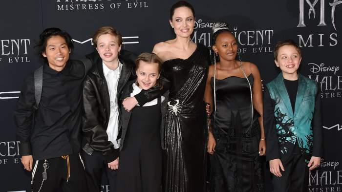 Brad Pitt a primit custodie comună pentru copiii pe care îi are cu Angelina Jolie. S-a luptat cinci ani în instanță