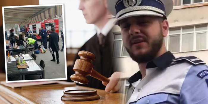 Lovitură de teatru în dosarul polițiștilor acuzați de uciderea unui pensionar / Salvați de magistrați
