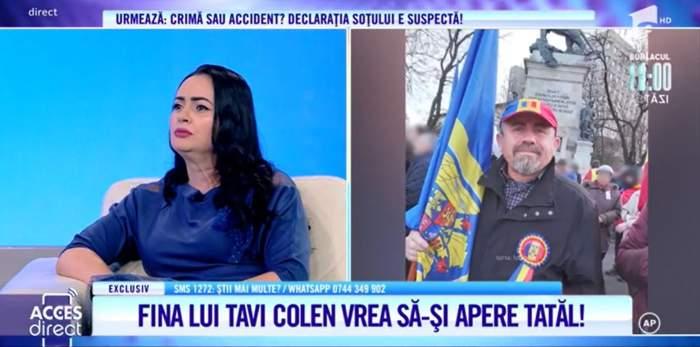 """Acces Direct. Fina lui Tavi Colen, coșmar din cauza unui primar. Tatăl milionarei a fost bătut cu bestialitate, în plină zi: """"A fost brutal"""" / VIDEO"""