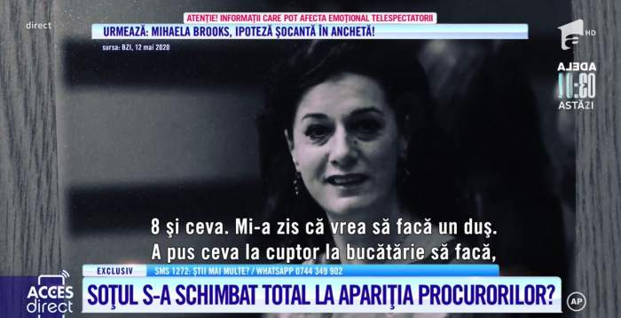 """Acces Direct. Soțul Mariei Macsim Nicoară se încurcă în declarații. Mărturia care îl face din victimă, suspect: """"Nu am văzut, dar am auzit"""" / VIDEO"""