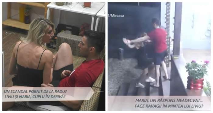 Liviu și Maria, scandal de proporții la Mireasa, urzeala soacrelor! Concurentul a devenit violent cu iubita lui / VIDEO