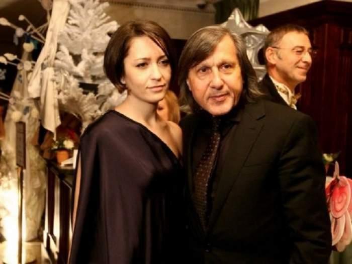 Amalia si Ilie Nastase erau la un eveniment formal, purtau haine negre