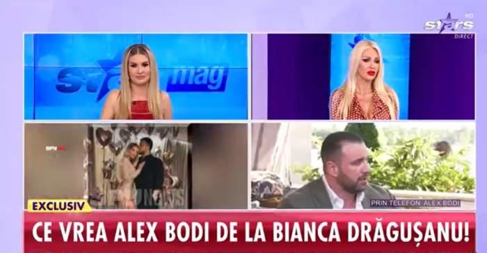 Alex Bodi a vorbit in direct la Antena Stars despre Gabi Badalau si întâlnirile cu Bianca Dragusanu