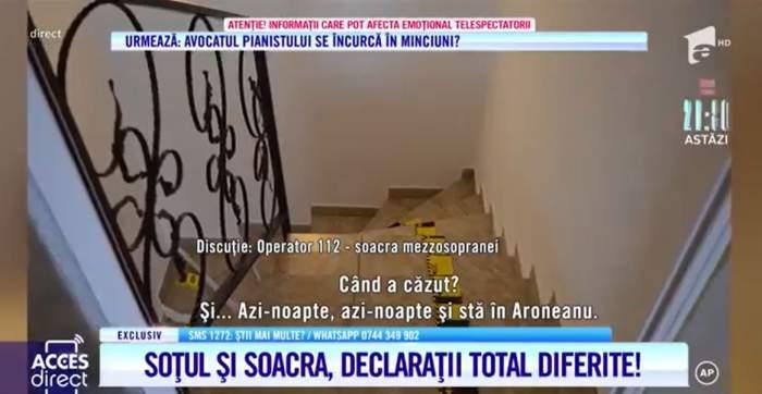 Acces Direct. Mărturiile contradictorii date de soacra și soțul Mariei Macsim Nicoară. Ce încearcă să ascundă, de fapt