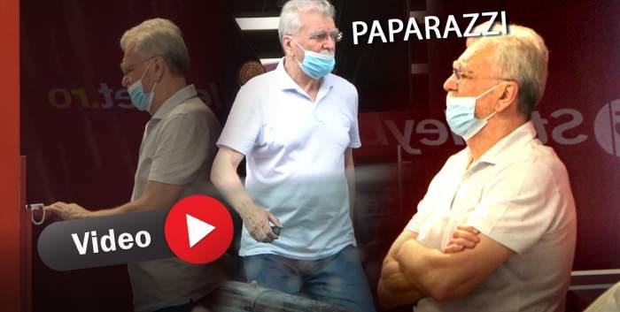 Imagini de senzație cu un fost greu din fotbal! Paparazzii Spynews.ro l-au surprins în timp ce își încerca norocul la pariuri
