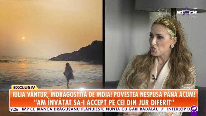 Iulia Vântur,la Antena Stars