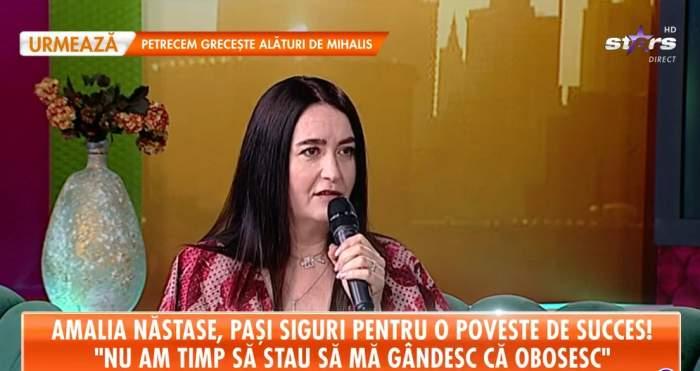 Amalia Năstase la Antena Stars