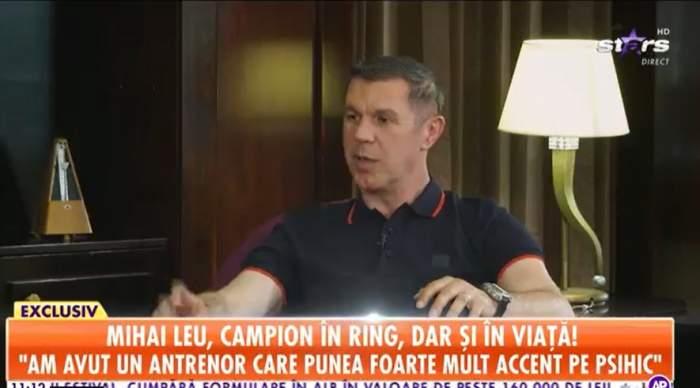 Mihai Leu la interviu