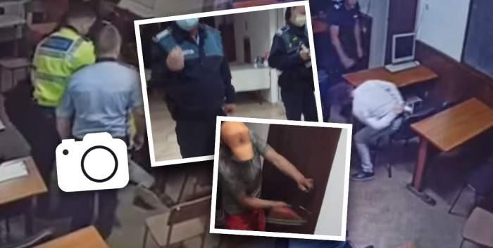 """VIDEO / Tânărul torturat de """"bombardierii"""" de la Secția 16, atacat în camera de hotel / Totul a fost filmat"""