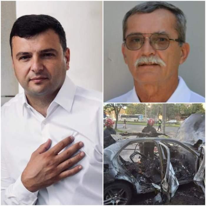 Colaj cu Sergiu Bîlcea, Ioan Crișan când trăia/ explozia din Arad.