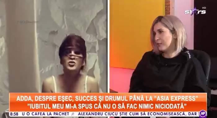 Captură video cu Adda la Antena Stars.