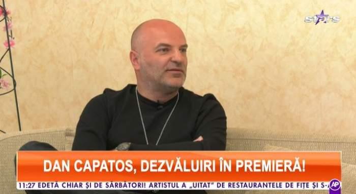 Captură video cu Dan Capatos la Antena Stars.