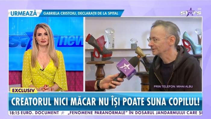 Mihai Albu a vorbit la Antena Stars despre sarbatorile de Paste fara fiica lui