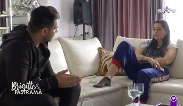 Florin și Brigitte Pastramă, pe canapea discută