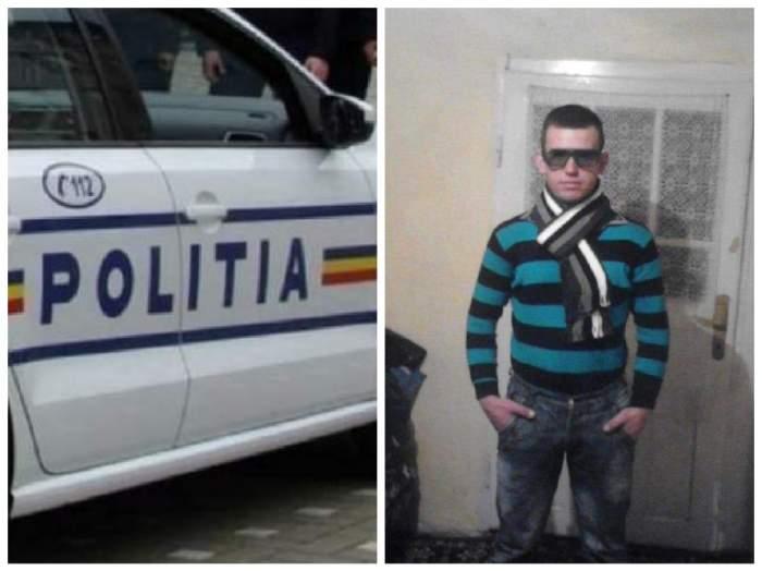colaj cu mașina de poliție și barbatul ucis  în maramureș
