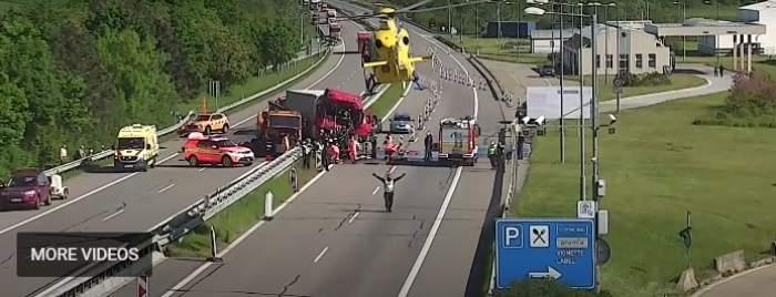 Cine este Dinu, șoferul român de TIR care a murit sub ochii polițiștilor. Bărbatul și-a pierdut viața în Cehia / FOTO