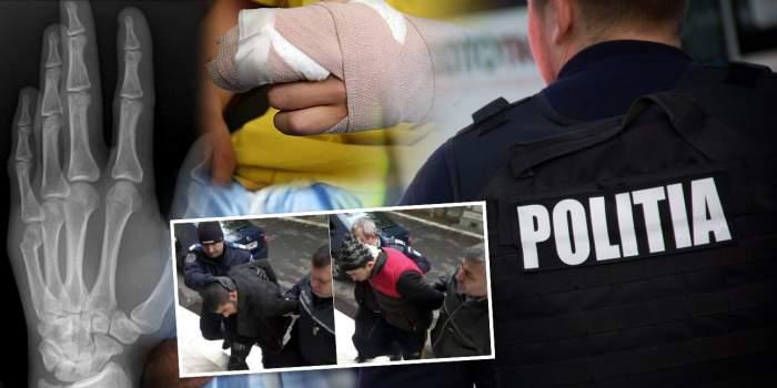 EXCLUSIV / Încă un scandal de tortură în Poliția Română! Ofițeri acuzați că i-au zdrobit degetele unui suspect arestat ilegal / Decizia judecătorilor