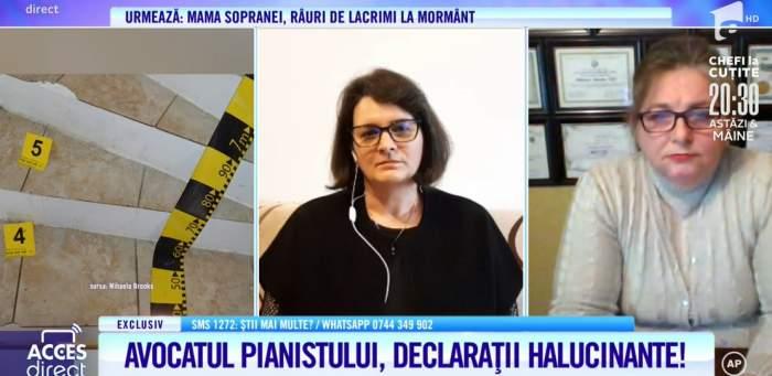 Acces Direct. Avocatul soțului Mariei Macsim Nicoară s-a încurcat în declarații. De ce se contrazice apărătorul bărbatului? / VIDEO