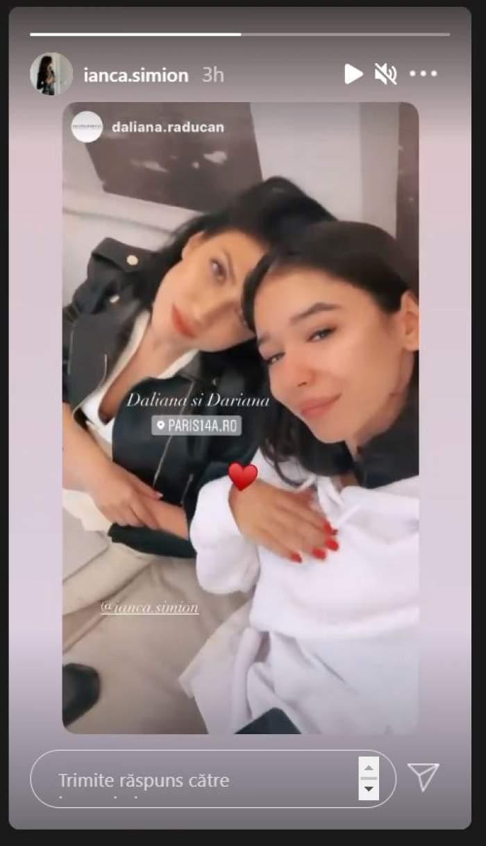 Cât de bine se înțelege Ianca, fiica lui Răzvan Simion, cu Daliana Răducan. Ipostaza în care au fost surprinse cele două / FOTO