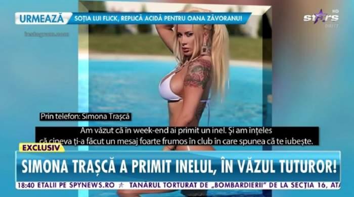 """Simona Trașcă a primit inelul într-un club de fițe! Declarațiile divei despre """"cererea în căsătorie"""", la Antena Stars: """"Am ieșit cu fetele și..."""" / VIDEO"""