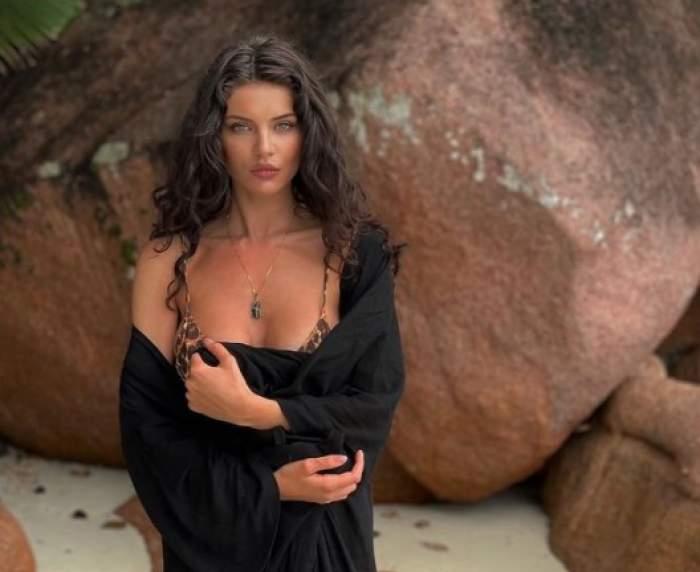 Cristina Ich, pe plajă