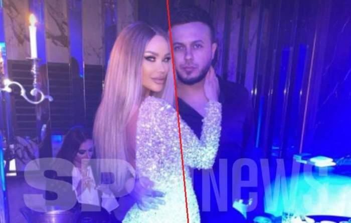 Bianca Drăgușanu și Gabi Bădălău la ziua ei de naștere.