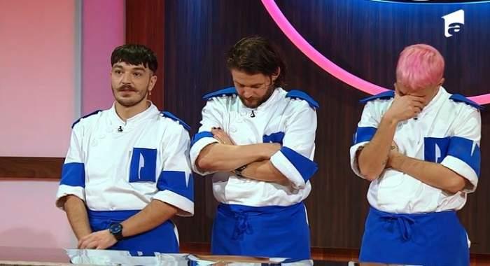 keed, Theo si Radu Mincu sunt la jurizare la Chefi la cutite