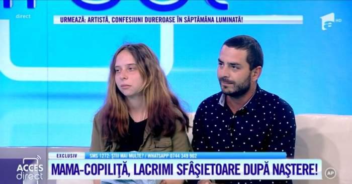 Anca Ciobanu si iubitul ei sunt la Acces Direct