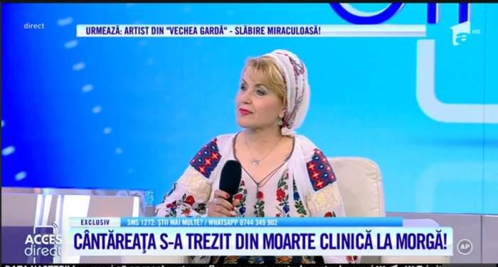 Anica Gantu a vorbit la Acces Direct despre porblemele de sanatate