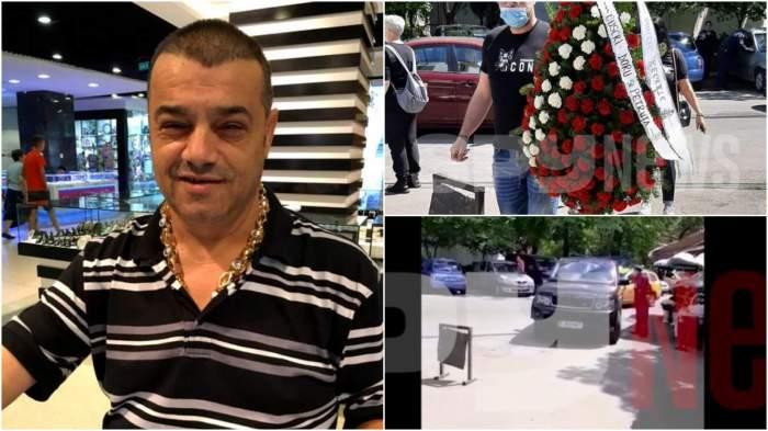 Imagini exclusive de la priveghiul lui Ion Petrișor. Impresarul maneliștilor a murit în urmă cu o zi, răpus de COVID-19 / VIDEO