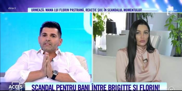 Brigitte si Florin Pastrama se cearta de la bani la Acces Direct