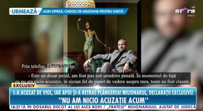 Florin Belu a vorbit despre acuzatiile de agresiune sexuala