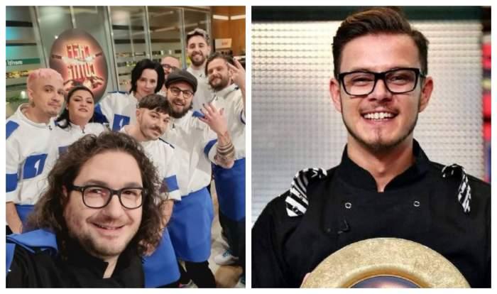 Florin dumitrescu este cu echipa de la Chefi la cutite, Ionut Belei tine in maini farfuria de aur