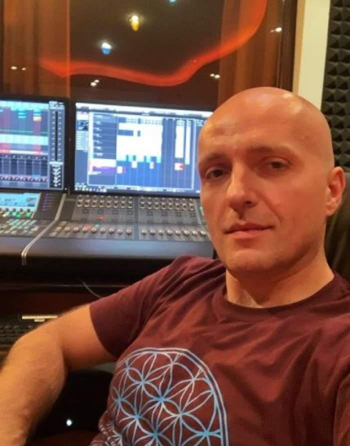 Costi Ioniță în studio.