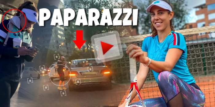 Mihaela Buzărnescu respectă regulile doar pe teren, nu și pe stradă. Cum a fost surprinsă jucătoarea de tenis în Capitală / PAPARAZZI