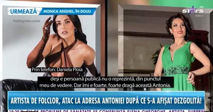 Antonia și Daniela Ploia la Antena Stars